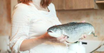 Тянет на рыбу при беременности
