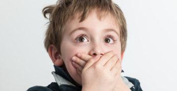 Что делать если ребенок испугался