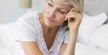 Задержка при климаксе симптомы